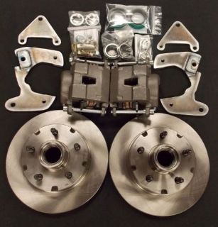 EC-721FCK 1949 1950 1951 1952 1953 Ford Front Disc Brake Conversion Kit