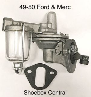 8BA-9350 1949 1950 Ford Mercury V8 Fuel Petrol Pump