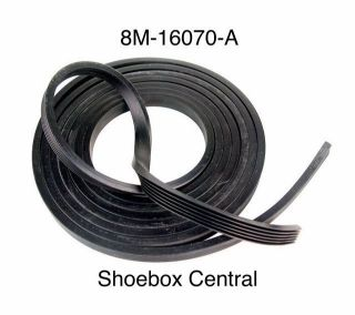 8M-16070-A 1949 1950 1951 Ford Mercury Anti Squeak Rubber Seal Roll