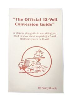 Official 12V 12 Volt Conversion Handbook Hand Book Guidebook Guide