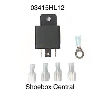 03415HL12 Ford 12V 12 Volt Headlight head Light Relay