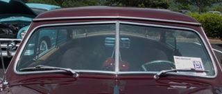 1069S 1949 1950 1951 Ford Victoria Convertible Windshield