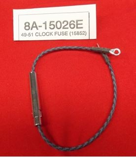 Picture of 49-51 Electric Clock Feed Wire with Fuse Holder