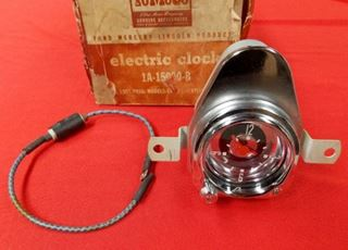 Picture of 1951 Ford Car NOS Electric Clock