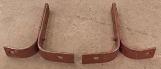 1949 Ford rear bumper brackets