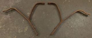 Picture of 1949 1950 Mercury Front Bumper Brackets