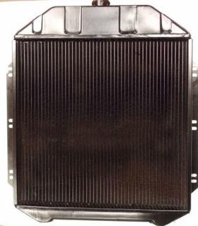 1949 1950 1951 1952 1953 ford flathead V8 4 four core row radiator
