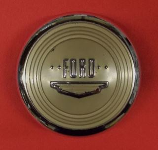 8A-3627-A 1949 1950 Ford Deluxe Horn Button