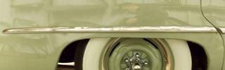 49-50 Ford 4 Door Right Rear Quarter Panel Trim