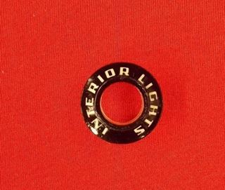 1A-18598-B 1951 Ford Interior Light Switch Bezel