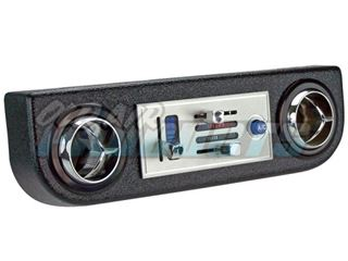 Picture of Below Dash Panel with Round Cutouts