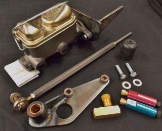 EC-45D 1949 1950 1951 Ford Deluxe Dual Reservoir Master Cylinder conversion kit