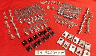 0A-8200-HW 1950 Ford New Grill Hardware Kit