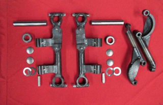 Picture of 49-51 Mercury Dropped Uprights & Steering Arms
