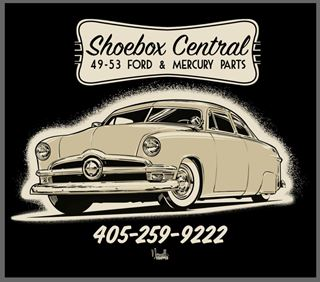 Picture of Shoebox Central Hoodie with 50 Ford