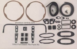 0A-700001-KIT 1950 Ford Basic Repaint Gasket set complete
