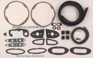 8A-700001-KIT 1949 Ford Basic Repaint Gasket set complete