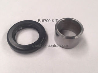 B-6700-KIT 1949 1950 1951 1952 1953 Ford Flathead V8 One Piece Front Crankshaft Oil Seal and Smooth Pulley Spacer
