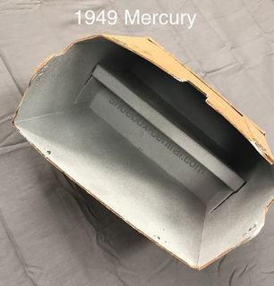 1949 49 mercury merc glove box compartment liner