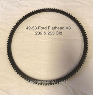 1949 1950 1951 1952 1953 ford mercury flathead v8 flywheel ring gear