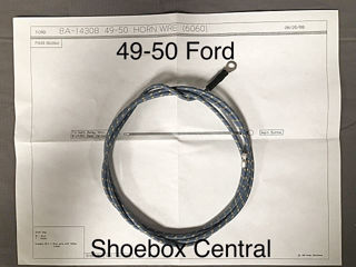 1951 mercury wiring diagram 8a 14308 1949 1950 ford horn wire in steering column  8a 14308 1949 1950 ford horn wire in
