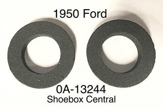 0A-13244 1950 Ford Shoebox Park Parking Light body housing to fender seal gasket