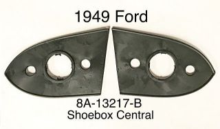8A-13217-B 1949 Ford Park Parking Light Housing Body to fender seal rubber gasket