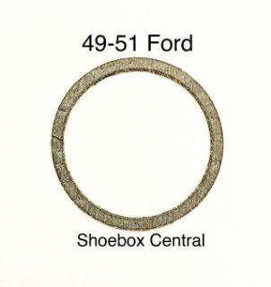 8M-2167 1949 1950 1951 Ford Mercury Master Cylinder Filler Lid Cap Gasket Seal