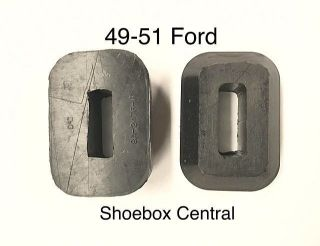 8A-2476-A 1949 1950 1951 Ford Brake Clutch Pedal Arm Rubber Bumper Seal Snubber Stop