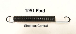1A-7523-B  1951 Ford Clutch Pedal Return Spring New