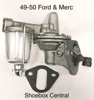 8BA-9350 1949 1950 Ford Mercury V8 Fuel Petrol Pump