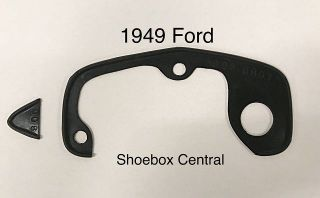 8A-7043531-S 1949 Ford Trunk Deck Boot Lid Handle Rubber Pad Seal