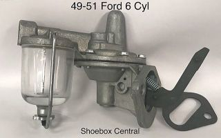 8HA-9350 1949 1950 1951 Ford 226 6 Six Cylinder Fuel Petrol Pump