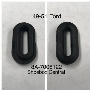 8A-7006122 1949 1950 1951 Ford Glove Box Rubber Check Arm Grommet
