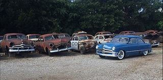 1949 1950 1951 Ford Parts Shoebox Central