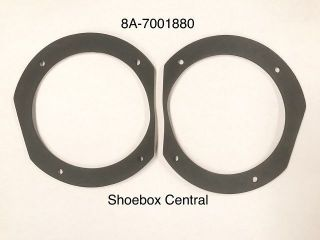 8A-7001880 1949 1950 1951 Ford Fresh Air Duct Gasket Rubber Foam Seal