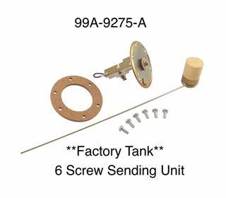 99A-9275-A 1949 1950 1951 Ford 6 screw fuel sender sending unit factory tank