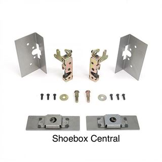 140837 Small Bear Claw Door Latch and Striker Kit
