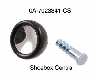 0A-7023341-CS 1950 ford window crank knob black