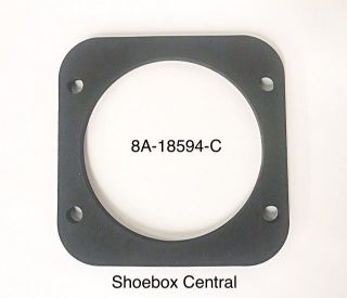 8A-18594-C 1949 1950 1951 ford heater box to firewall seal gasket rubber