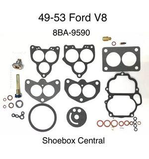 8BA-9590 59A-9590 1949 1950 1951 1952 1953 Ford Flathead V8 Carburetor Carb Rebuild Overhaul Kit