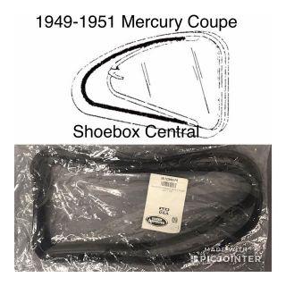 0M-7229904-PR 1949 1950 1951 Mercury Coupe 2 door quarter window rubber seals weatherstripping