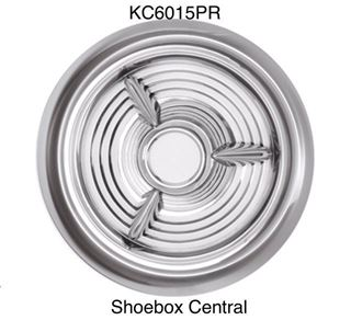 KC6015PR Oldsmobile olds Fiesta 3 three bar hubcap hub cap wheelcover wheel cover