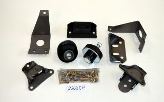 2500CP 1949 1950 1951 Ford Small Block Chevy Chevrolet Engine Motor Mount Conversion Kit