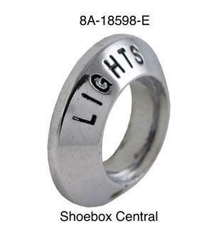 8A-18598-E 1949 1950 Ford Lights Switch Chrome Bezel