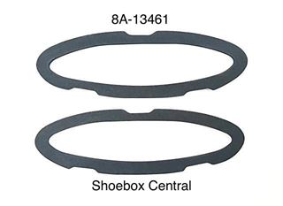 8A-13461 1949 1950 Ford Tail Light Lens Housing Body Bucket Seal Gasket Rubber Pad