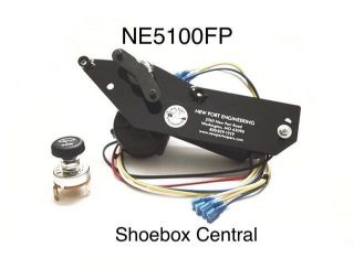 NE5100FP 1951 Ford 12V Electric Windshield Wiper Motor Conversion Kit