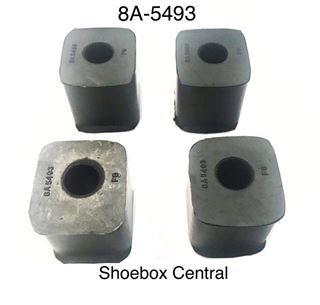 8A-5493-B 1949 Ford Sway Stabilizer Bar Rubber Bushings