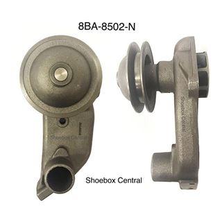 8BA-8502-N 1949 Ford V8 Wide Belt Left Driver Side Water Pump
