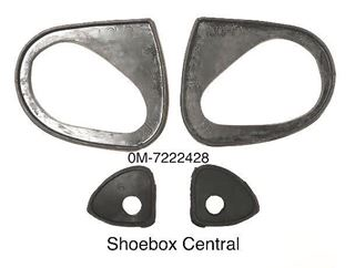 0M-7222428 1950 Mercury Ford Station Wagon Outside Exterior Door Handle Pad